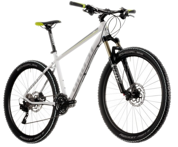 Unser GHOST Alu Hardtail